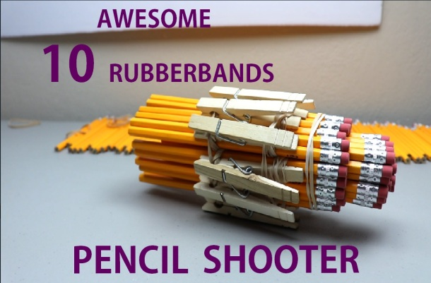 pencil shooter